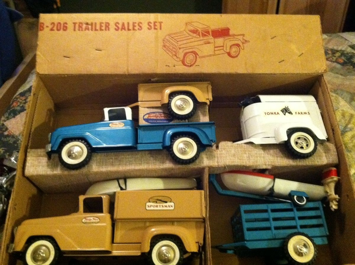 Mine, someone tonka toy vintage suggest