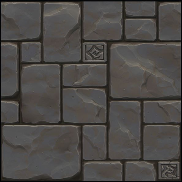 Hand Painted Sculpted Texture Polycount Forum Texture