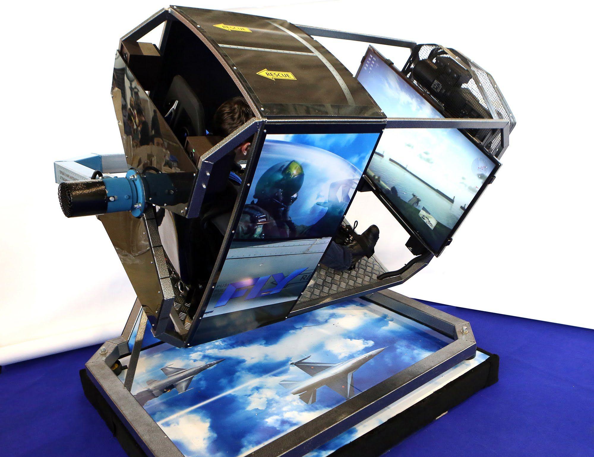 Flight Simulator Chair & Flight Sim Rig - Full Aluminium