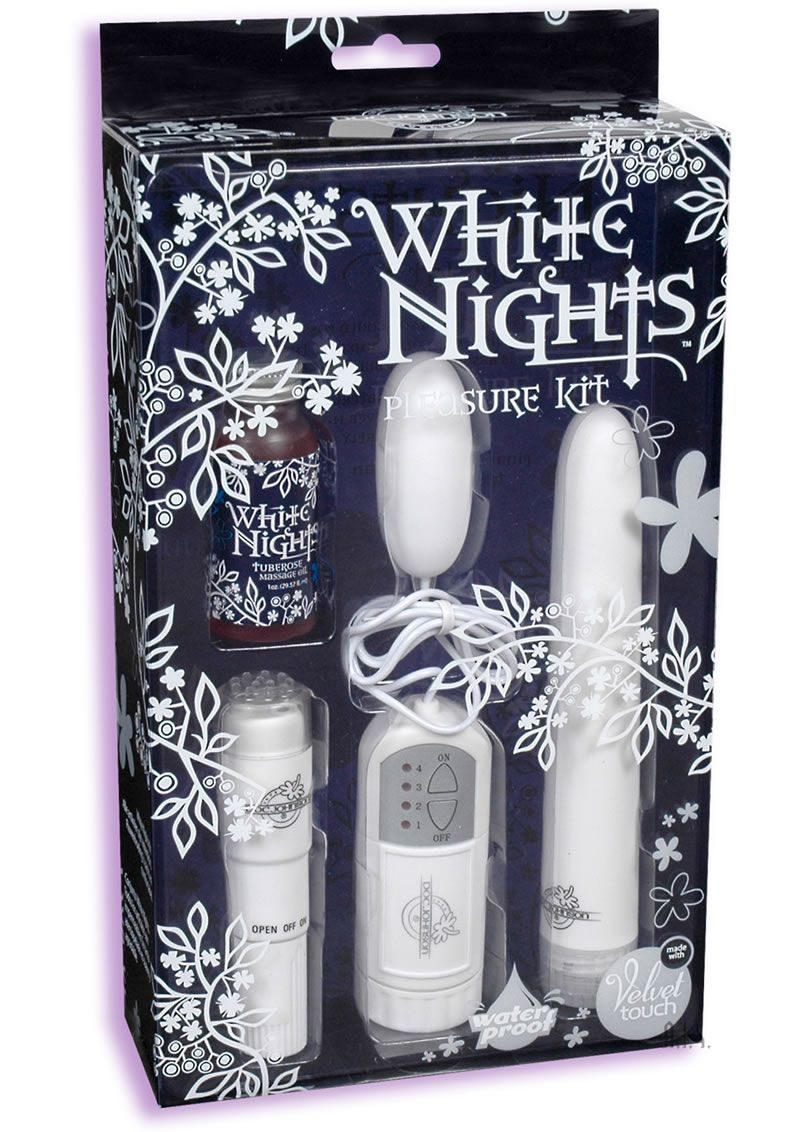 Doc johnson white nights 7 inch velvet touch vibrator