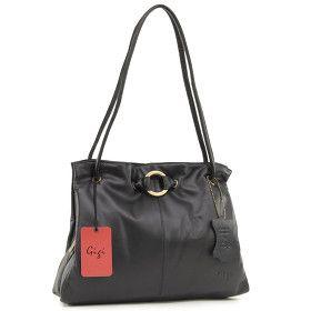 Gigi OTH4323 Black Leather Handbag