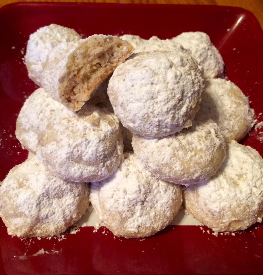 Stacey Shaffer's Gluten Free Russian Tea Cakes or Mexican