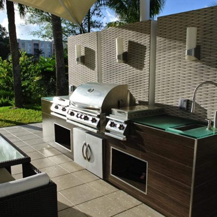 If You Want An Outdoor Kitchen Beyond Just A Grill You Ll Need Plumbing Pipes And Electrical W Outdoor Kitchen Design Best Kitchen Designs Diy Outdoor Kitchen