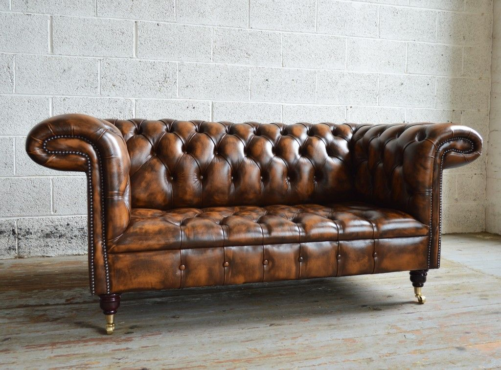 Brown Leather Chesterfield Sofa Man Caves Sheds Idea S Stuff