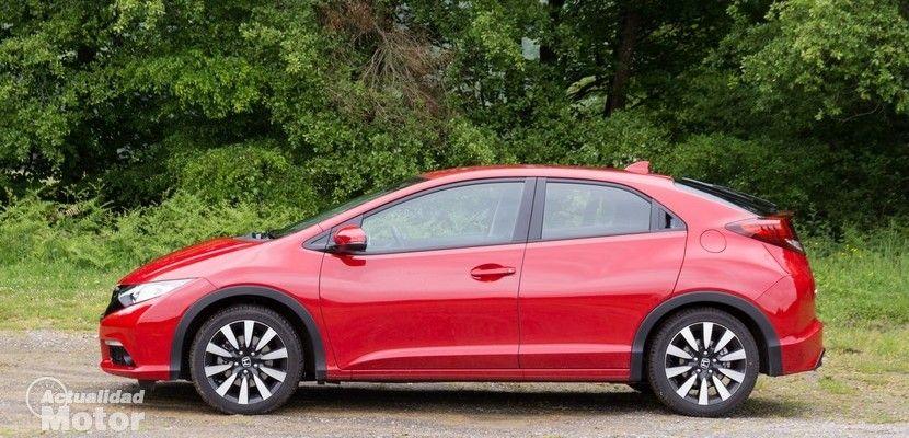 Prueba Honda Civic 1 6 I Dtec 120cv Sport Equipamiento Precio Y Conclusiones Honda Civic Honda