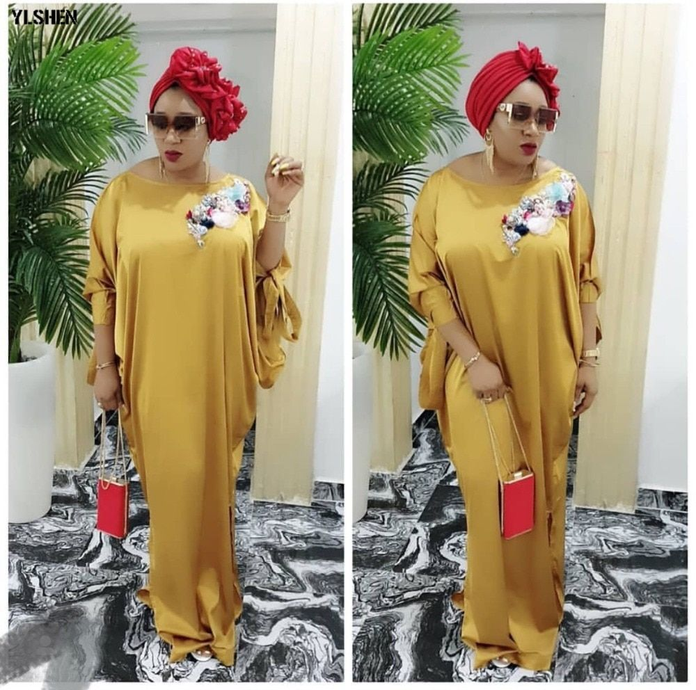 2019 african dresses for women plus size boubou africain