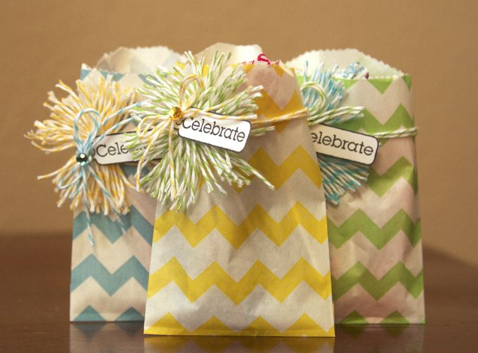 Great party bag or favor idea with chevron bitty gift food bags. Buy them here in a variety of colors! http://www.etsy.com/shop/daintzy?section_id=12899128