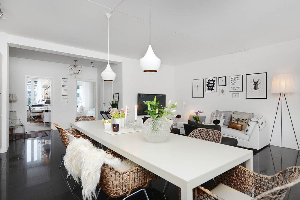 Moving Company Quotes Tips To Plan Your Move Mymove Scandinavian Dining Room Apartment Interior Design Apartment Dining Room Two bedroom apartment in scandinavian
