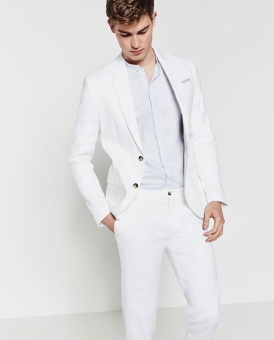 Traje Blanco Para Hombre Related Keywords   Suggestions ...  e31d6da2013