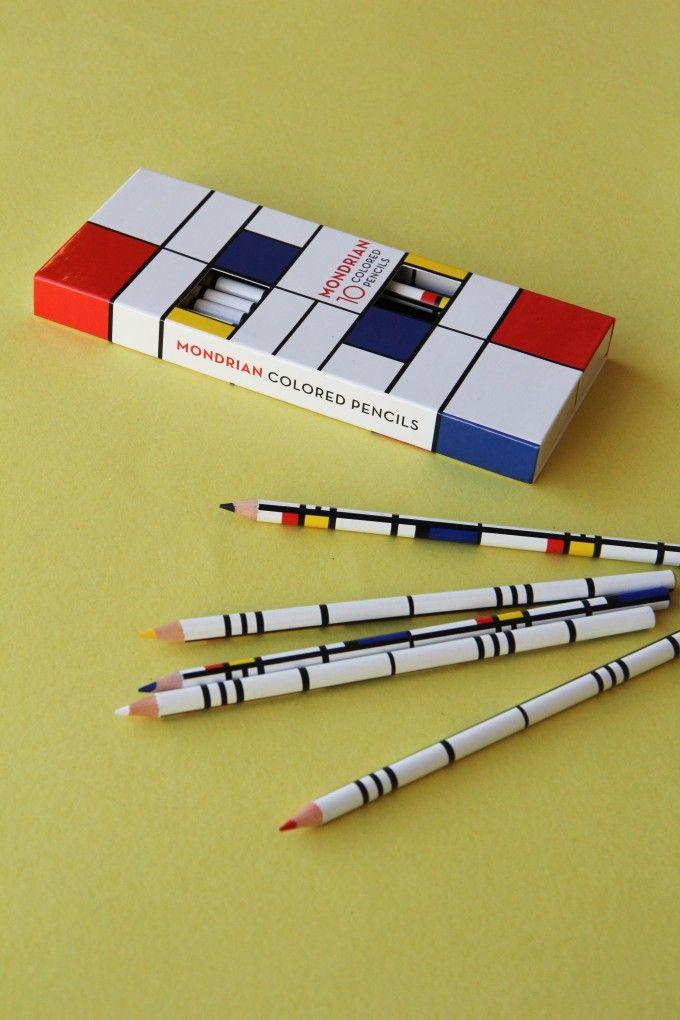 Mondrian Colored Pencils