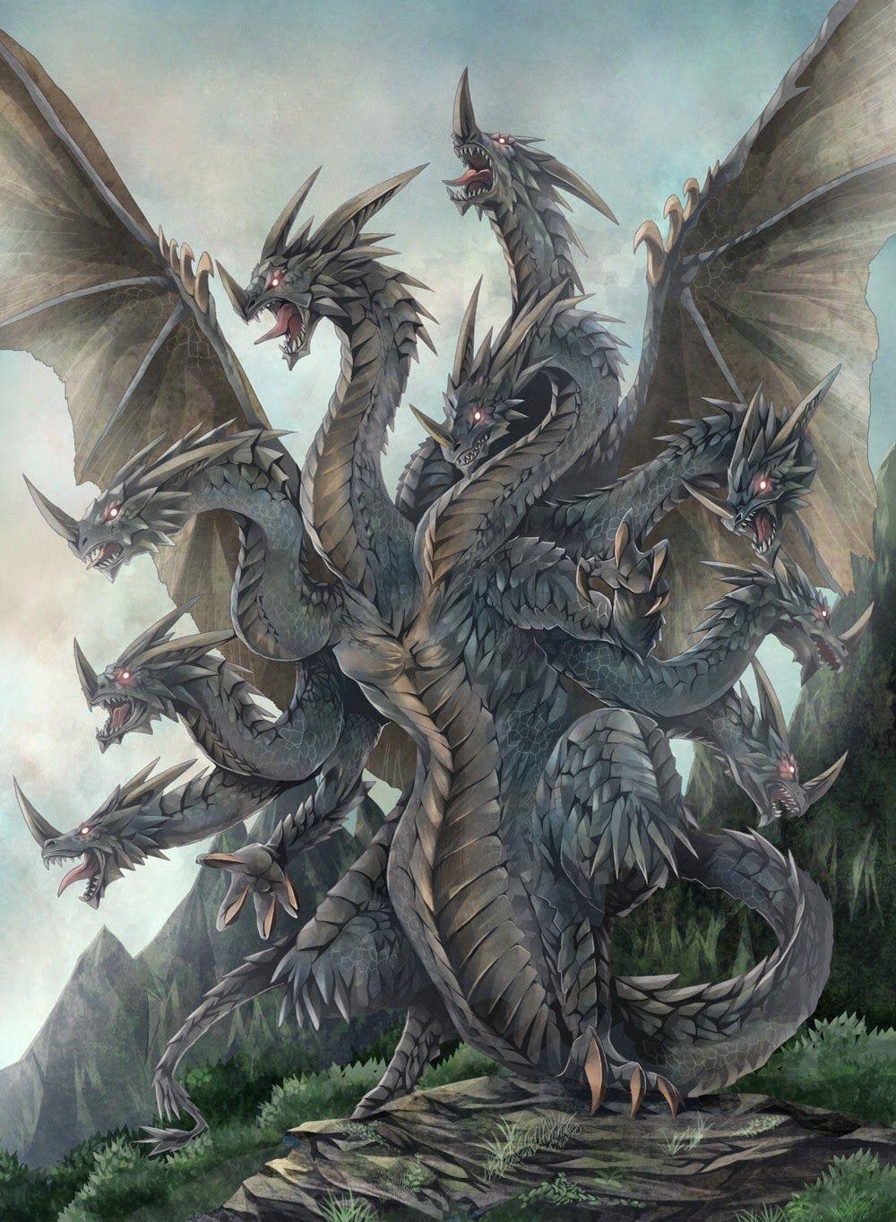 Hydra Mythical Creature Dragon