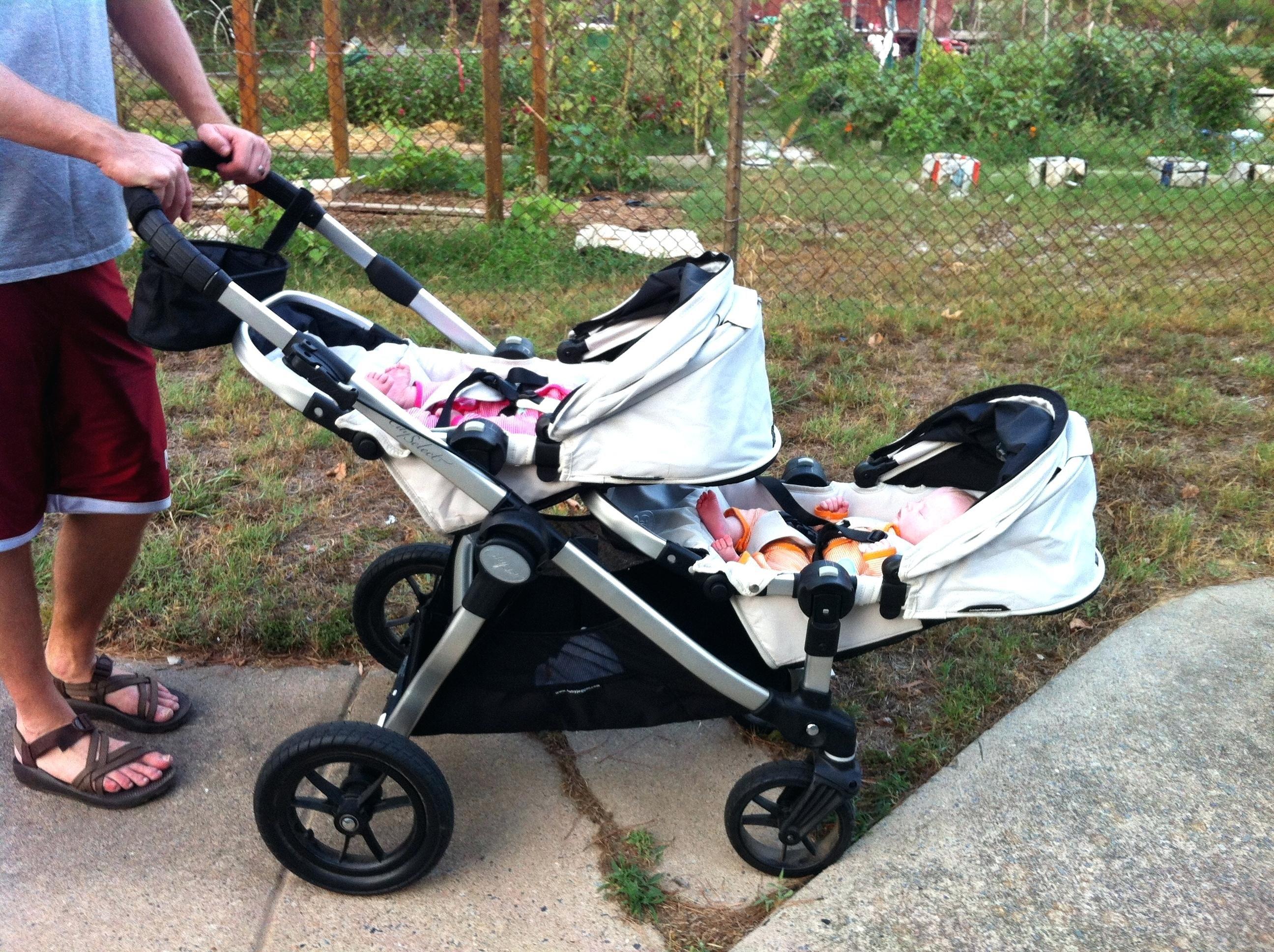 Erste Baby Kinderwagen Jogger Mit Den Sitzen Die
