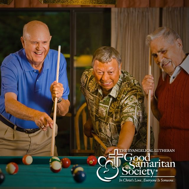 Have fun with your friends today! See more from our Age is Beautiful series on our #Instagram page! #GoodSamaritanSociety #agingwell