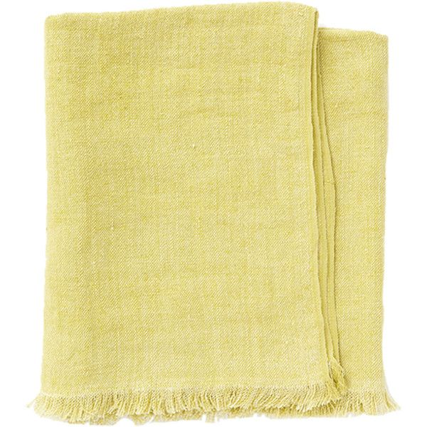 Pehr Designs Linen Throw Citron By €40 Liked On Polyvore Unique Citron Throw Blanket