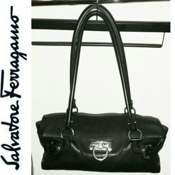 d3c1e01524 Salvatore Ferragamo Satchel handbag (Authentic) 100% Authentic (serial  number  DH-