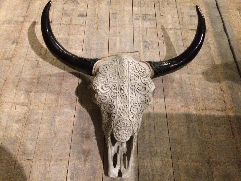 Pin Op Imitatie Skulls