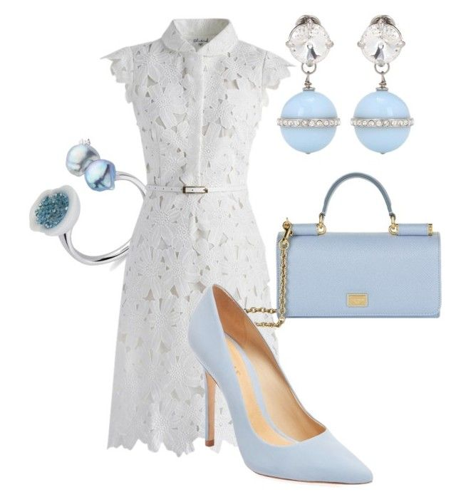 """""""Untitled #318"""" by gragra-537 ❤ liked on Polyvore featuring Chicwish, Dolce&Gabbana, Schutz and Miu Miu"""