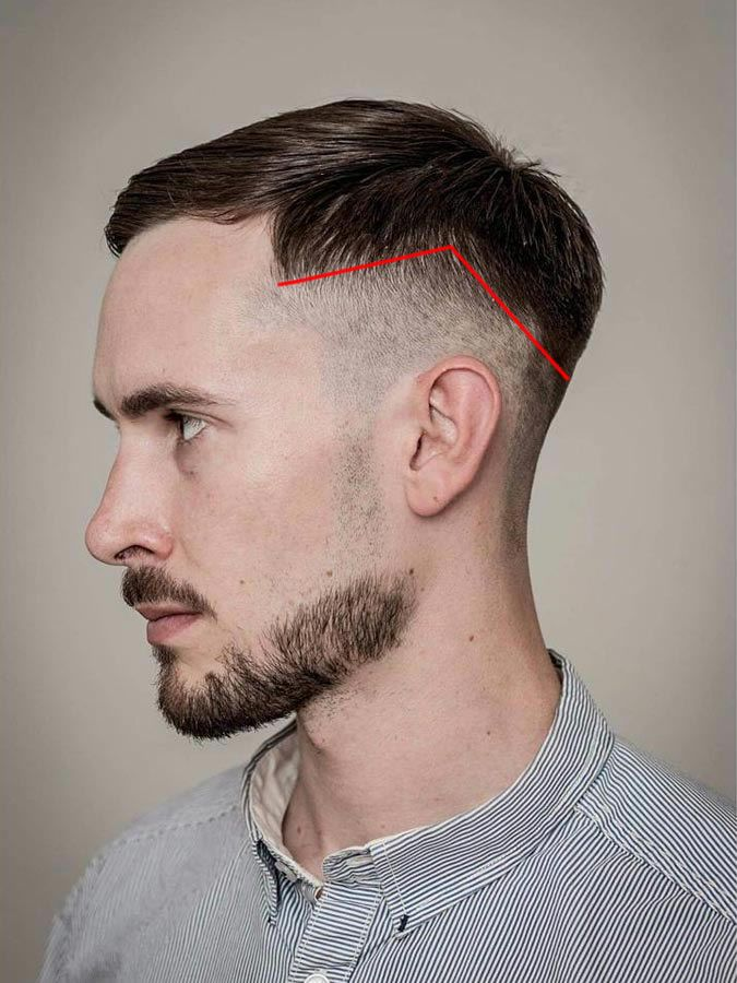 Mens Drop Fade Haircut Hairline Drop Fade Haircuts What They