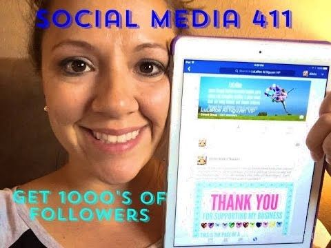 ff86bd37f6a7 LuLaRoe- How to get THOUSANDS of followers while in queue! - YouTube ...