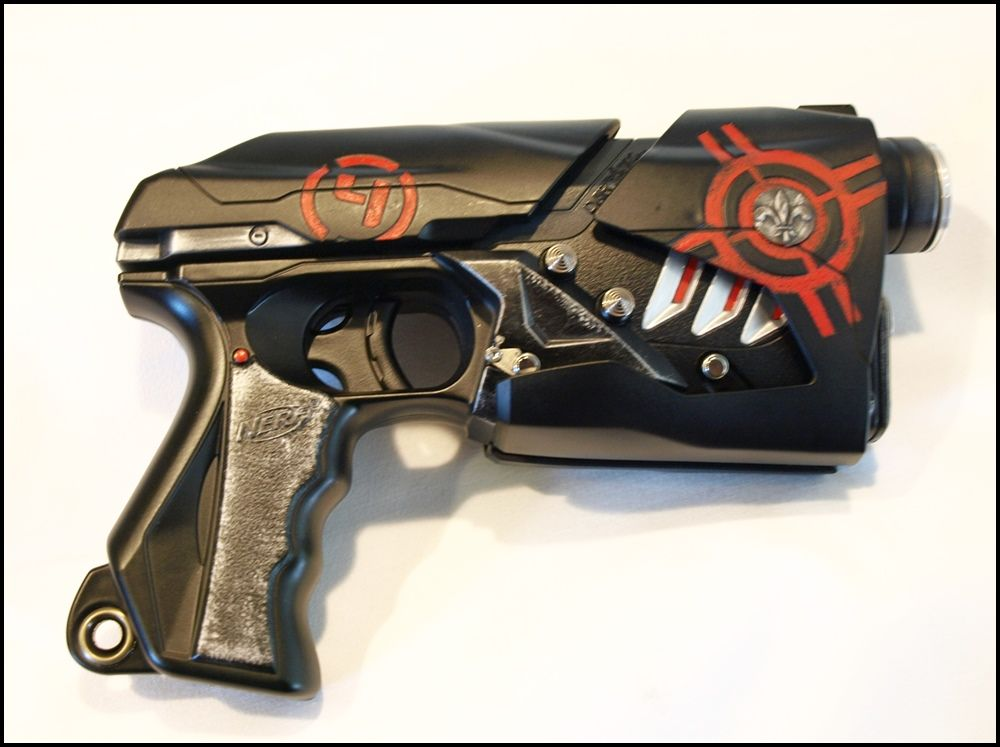 Custom Modded Nerf Dart Tag. visit my website at nerfkraftcity(dot)yolasite(