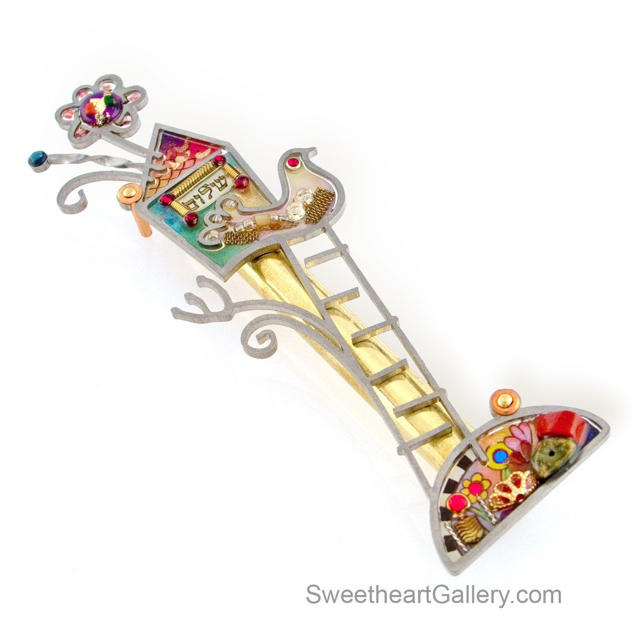 Peace Mezuzah 1450257 by Seeka Jewish wedding traditions