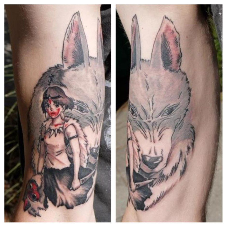 princes mononoke tattoo - Google Search | Inked ...