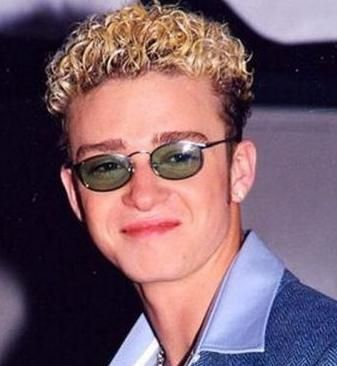 Justin Timberlakes 90s Boy Bands And Hair With Bleached