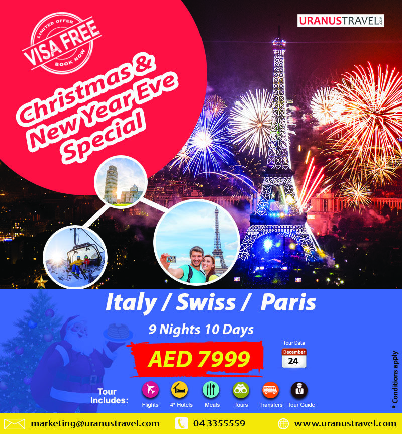 Book A Complete Christmas New Year Eve Celebration Package Newyear2019 Europe Tour Package Holi Christmas In Europe Christmas Travel Holiday Packaging