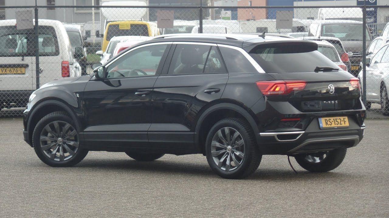 Volkswagen New T Roc 2018 Style Deep Black Pearl Walk Around