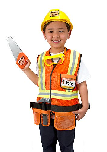 Construction Worker Role Play Costume Set  sc 1 st  Pinterest & Construction Worker Role Play Costume Set | Fall Fun! | Pinterest ...
