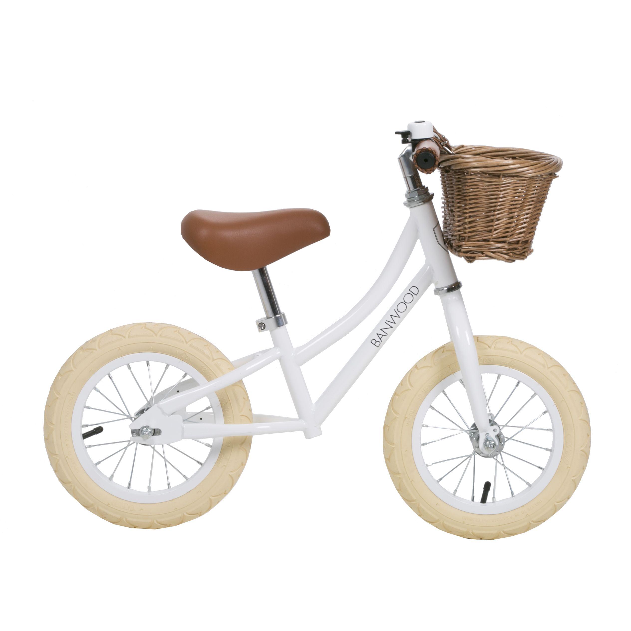 Banwood First Go Balance Bike White Bike Balance Bike Bike