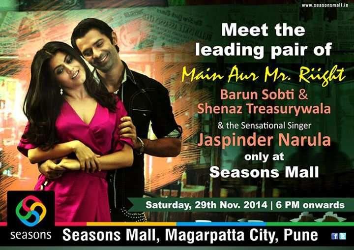Meet and Greet the stars of Main Aur Mr. Riight, Barun Sobti & Shenaz
