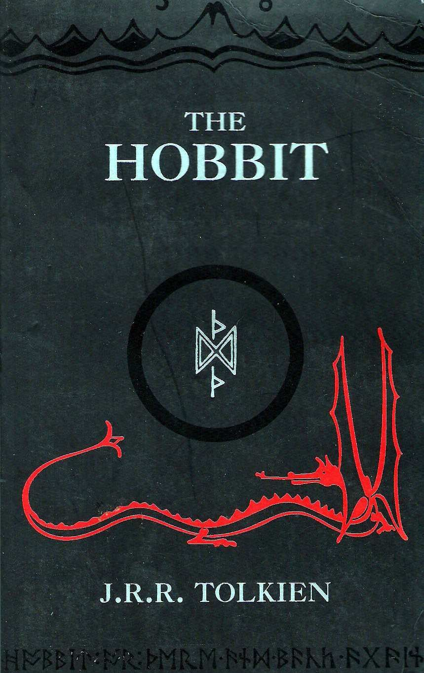 English Grammar Book Cover Design : The hobbit by j r tolkien very first book i read