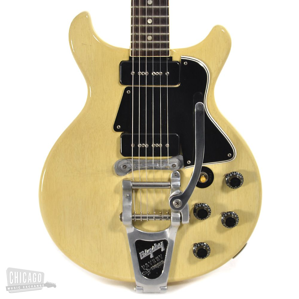 1960 Gibson Les Paul Special Double Cut with Bigsby TV Yellow > Guitars…