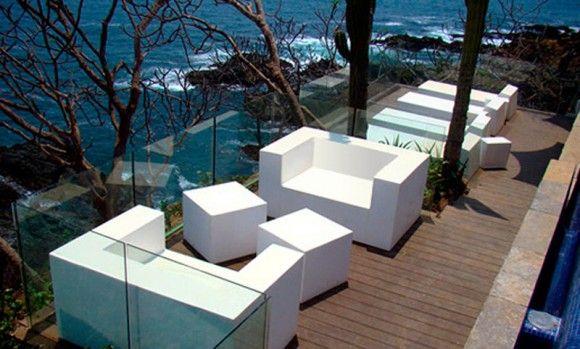 Proyecto Áreas Lounge, sofas, poufs y chaiselongue modelo Club y ...