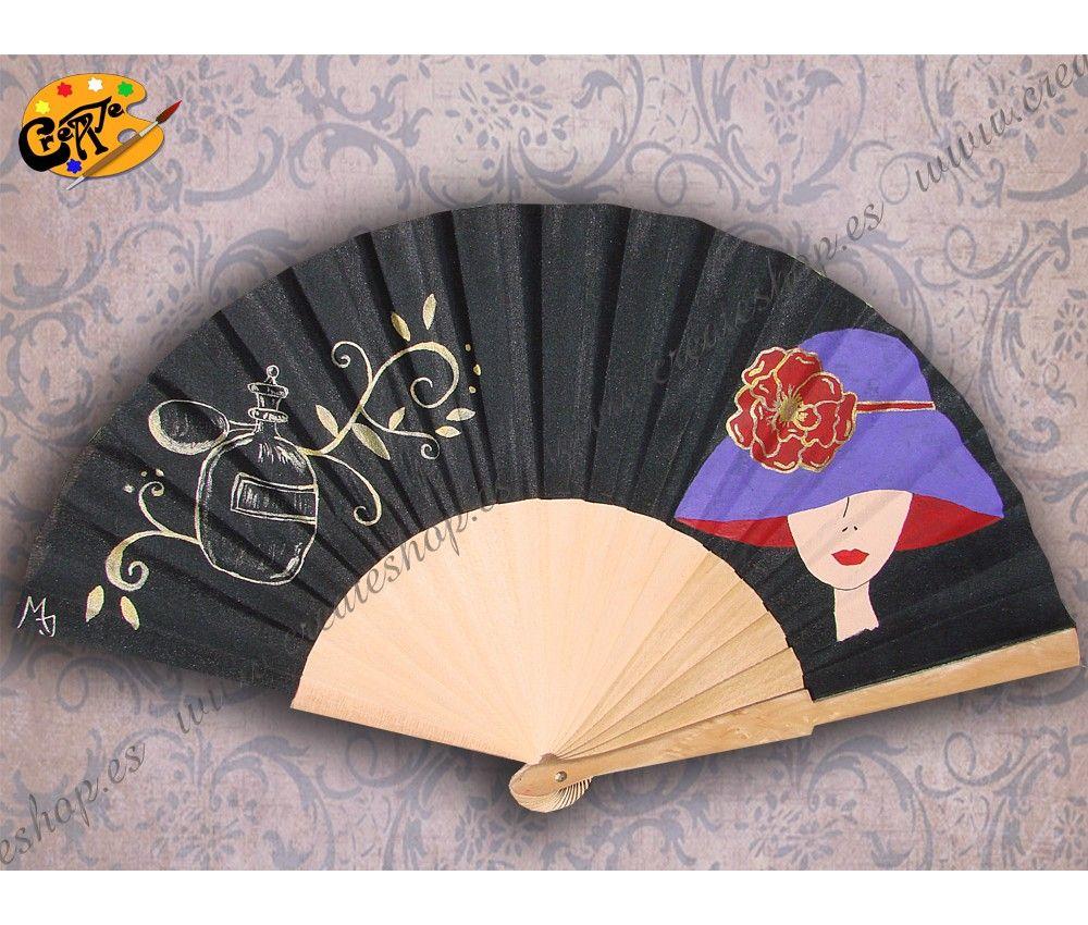 Abanico Colección Vintage Mod. Sombrero 02