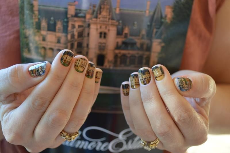 I Love The Biltmore So I Made Some Nail Wraps With Pictures From My Trips Jamberry Nails Has A Nail Art Studio W Nail Art Studio Nail Wraps Biltmore House