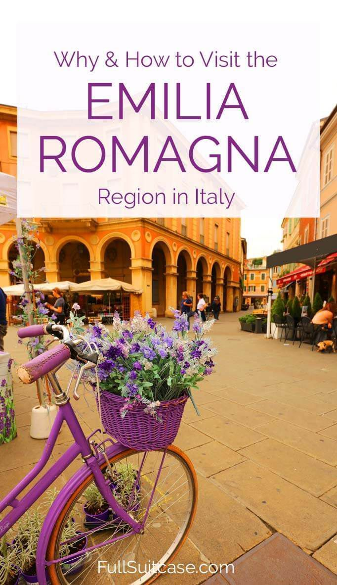 Visiting the Emilia Romagna region in Italy - travel guide and trip itinerary for Ravenna, Rimini, Forlimpopoli, and Santarcangelo #italytravel #italytrip #italyvacation #emiliaromagna #italytravelideas #travelinspiration #europetravel