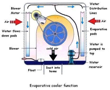 Swamp Cooler Maintenance Tips Swamp Cooler Evaporative Cooler Cooler Tricks