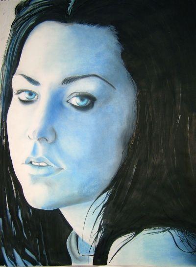 Amy Lee  http://www.brittanybrubaker.com/art/fanart/Amy2.jpg