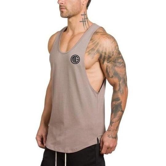 Muscle Guys Gyms Clothing Fitness Men Tank Top Mens Bodybuilding Strin – heave... -  Muscle Guys Gym...