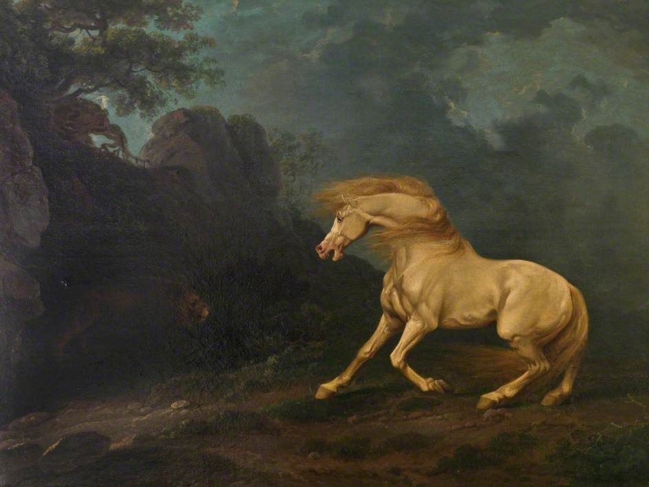 artoftheday George Stubbs was largely a self-taught artist, and is ...