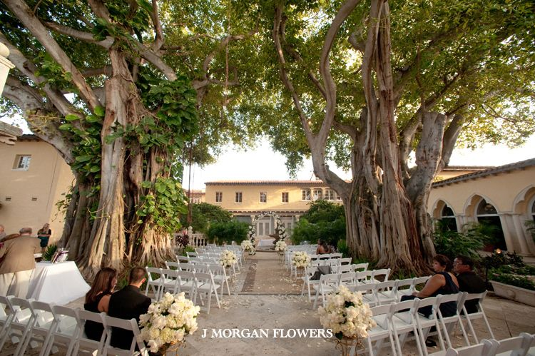 The Addison Boca Raton White Weddings Wedding Flowers Arch Ceremony Hydrangeas Roses Resort J Morgan