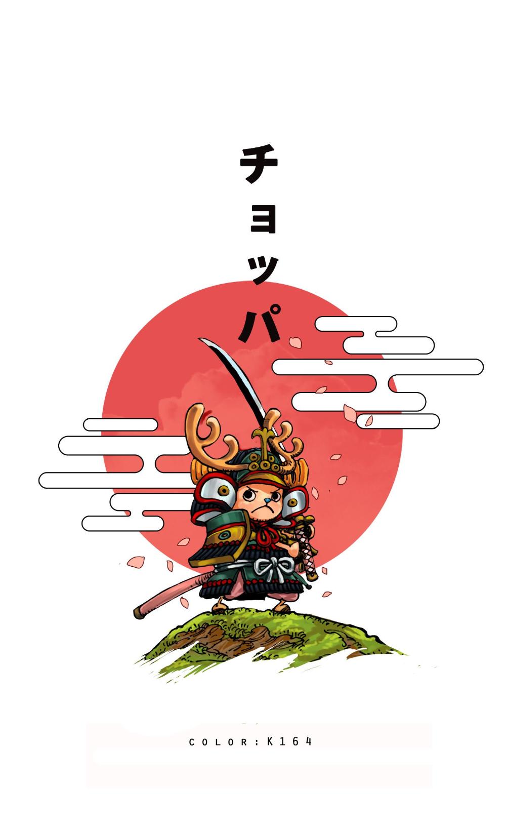 Chopper Samurai Wano Kuni One Piece Wallpaper Iphone One Piece Chopper One Piece Drawing