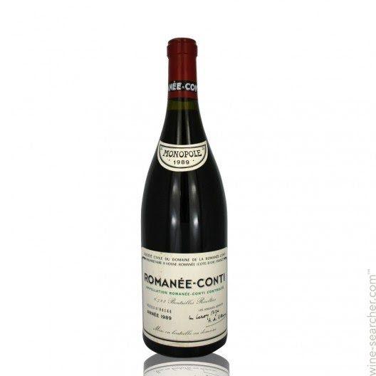 1989 Domaine De La Romanee Conti Ro Tasting Notes Market Data Prices And Stores In Va Usa Wine Expensive Wine Wine Drinkers