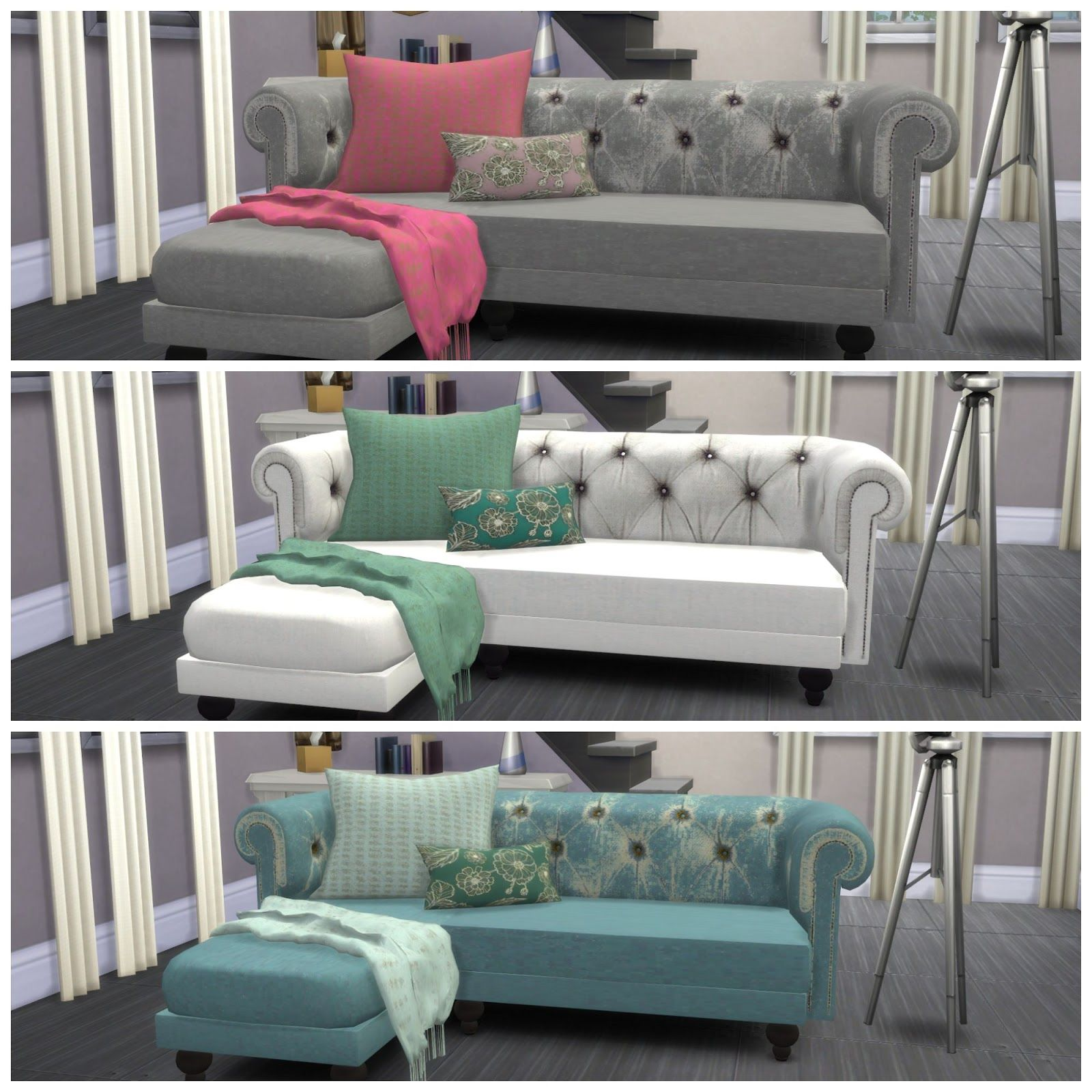 Dinha recolors sof sims 4 sims 4 pinterest for Dormitorio sims 4
