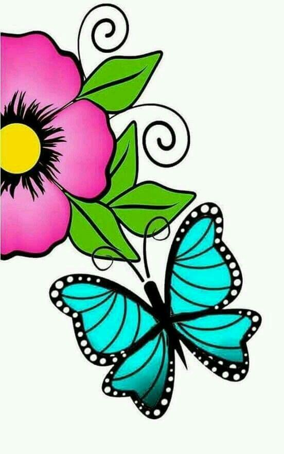 Borboleta Desenhos De Flores Nas Unhas Unhas Artesanais E