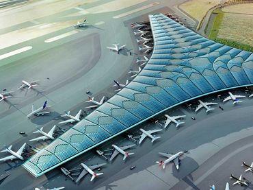 Norman Foster, Detalle del proyecto Aeropuerto Kuwait