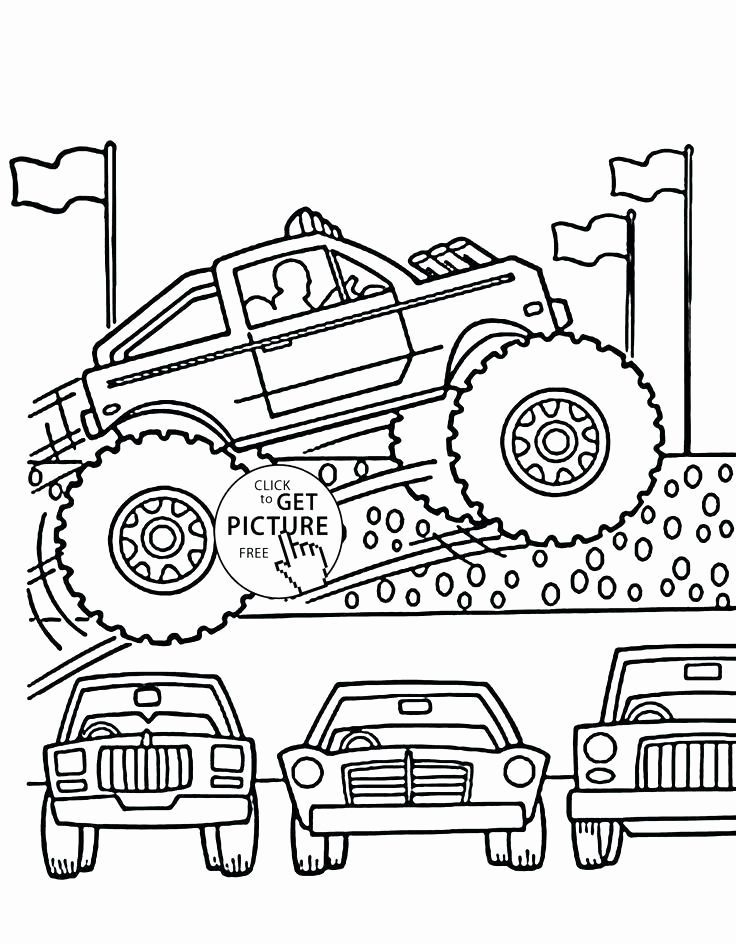 Monster Truck Malbuch Lovely Truck Drawing Fur Kinder Bei Getdrawings Kinderfarben Kostenlose Ausmalbilder Monster Truck