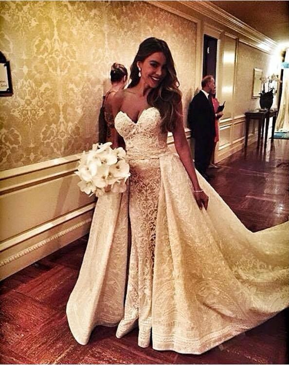 Sofia Vergara Wedding Dress Căutare Google
